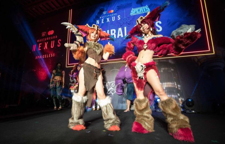 Spiral Cats at the League of Legends World Finals