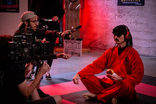 Dr Disrespect x Astralis on Set